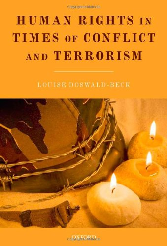 9780199578931: Human Rights in Times of Conflict and Terrorism