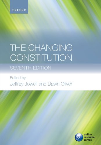 9780199579051: The Changing Constitution