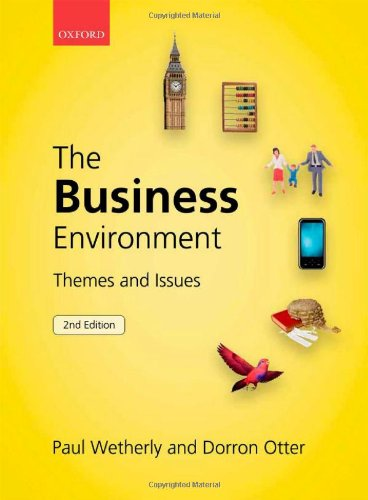 9780199579600: The Business Environment: Themes and Issues