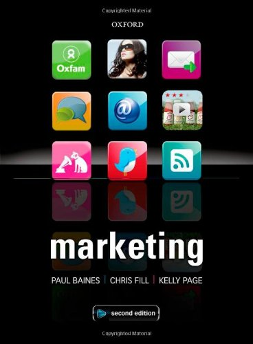 Marketing: Paul Baines