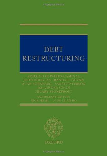 Debt Restructuring (Hardback): Olivares-Caminal, Rodrigo; Douglas,