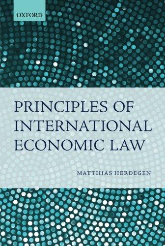9780199579877: Principles of International Economic Law