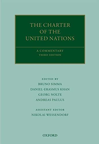 9780199580156: The Charter of the United Nations: A Commentary