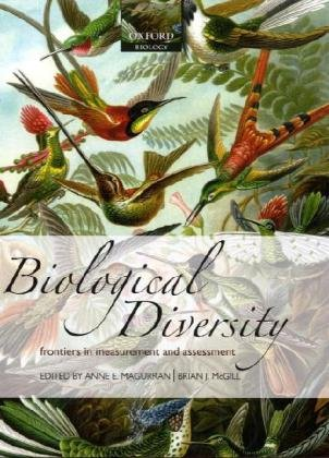 9780199580668: Biological Diversity: Frontiers in Measurement and Assessment