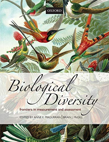 9780199580675: Biological Diversity: Frontiers in Measurement and Assessment