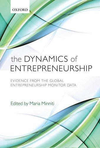 9780199580866: The Dynamics of Entrepreneurship: Evidence from Global Entrepreneurship Monitor Data