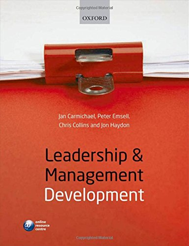 9780199580873: Leadership and Management Development