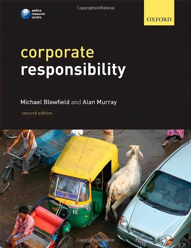9780199581078: Corporate Responsibility