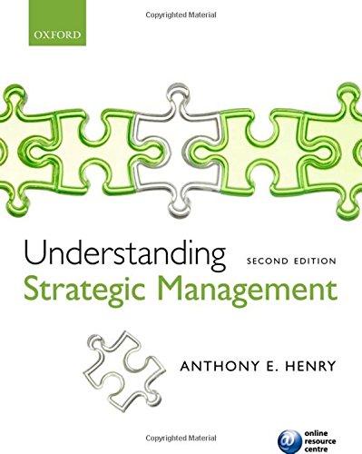 9780199581610: Understanding Strategic Management
