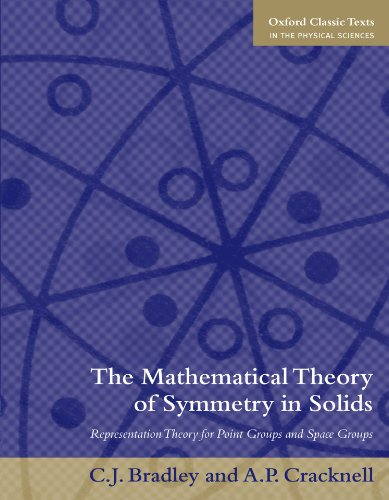 9780199582587: The Mathematical Theory of Symmetry in Solids: Representation Theory for Point Groups and Space Groups