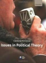 9780199582693: Oxford University Press Issues In Political Theory