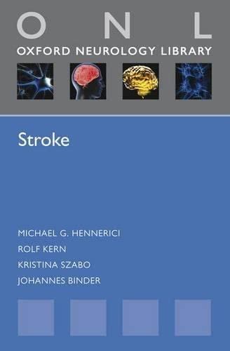 9780199582808: Stroke (Oxford Neurology Library)