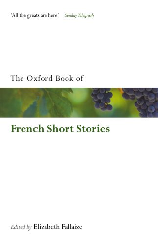 The Oxford Book of French Short Stories (Oxford Books of Prose Verse)