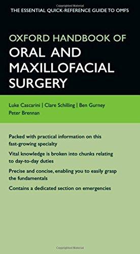 9780199583294: Oxford Handbook of Oral and Maxillofacial Surgery (Oxford Medical Handbooks)
