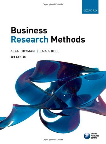 9780199583409: Business Research Methods
