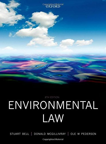 9780199583805: Environmental Law