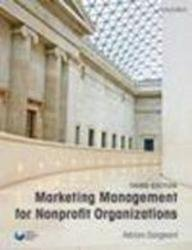 Marketing Management for Nonprofit Organizations: Adrian Sargeant