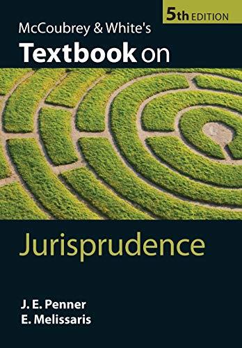 9780199584345: McCoubrey & White's Textbook on Jurisprudence