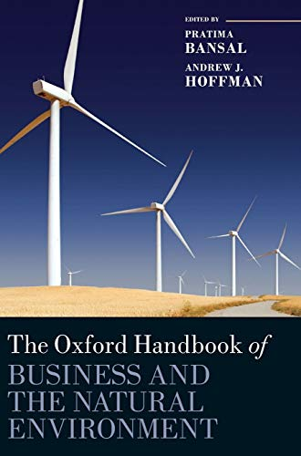 9780199584451: The Oxford Handbook of Business and the Natural Environment (Oxford Handbooks)