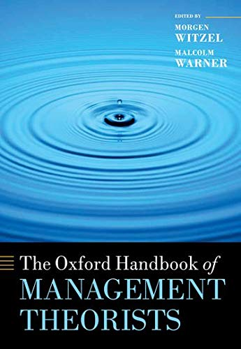 9780199585762: The Oxford Handbook of Management Theorists (Oxford Handbooks in Business and Management)