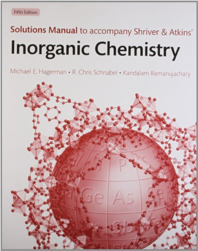 9780199585953: Solutions manual to accompany Shriver and Atkins' Inorganic Chemistry 5e