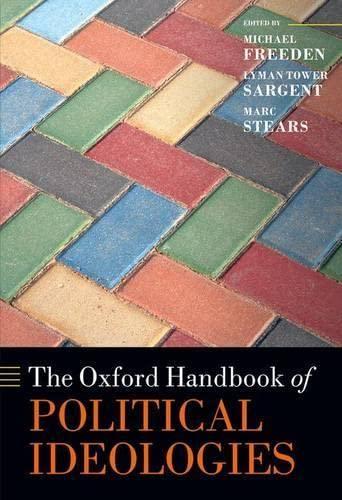 9780199585977: The Oxford Handbook of Political Ideologies (Oxford Handbooks)