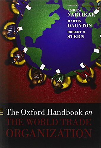 9780199586103: The Oxford Handbook on The World Trade Organization (Oxford Handbooks in Politics & International Relations)