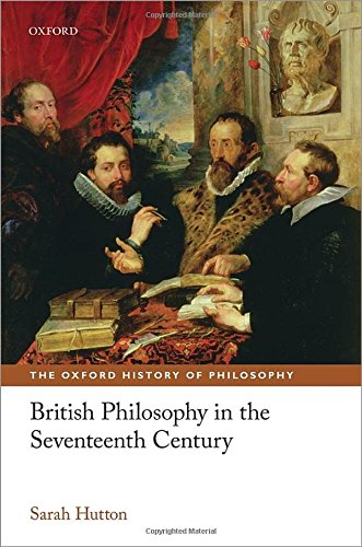 9780199586110: British Philosophy in the Seventeenth Century (The Oxford History of Philosophy)