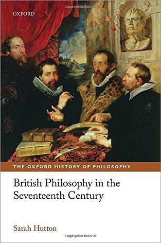 9780199586110: British Philosophy in the Seventeenth Century