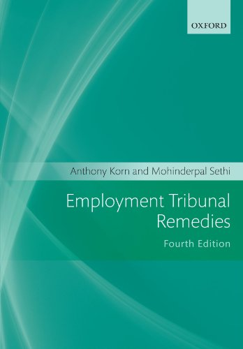 9780199586417: Employment Tribunal Remedies 2011-2012