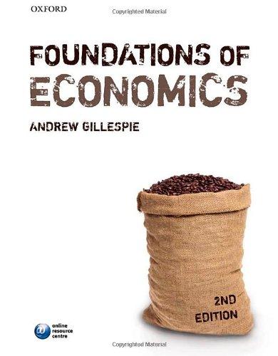 9780199586547: Foundations of Economics