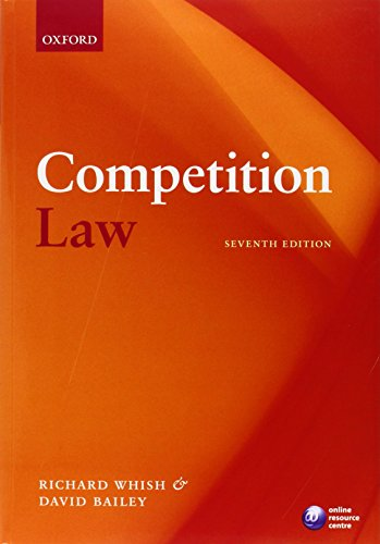 Competition Law (Seventh Edition)