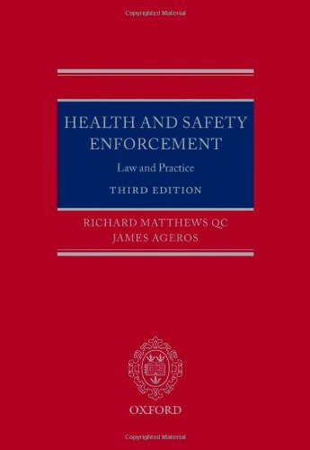9780199586615: Health and Safety Enforcement: Law and Practice