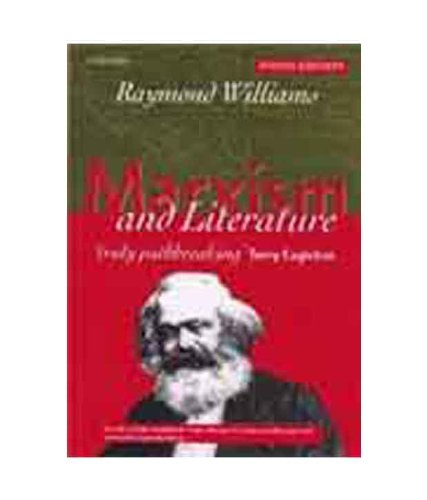 9780199586820: Marxism and Literature