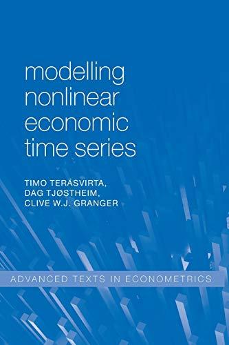9780199587155: Modelling Nonlinear Economic Time Series