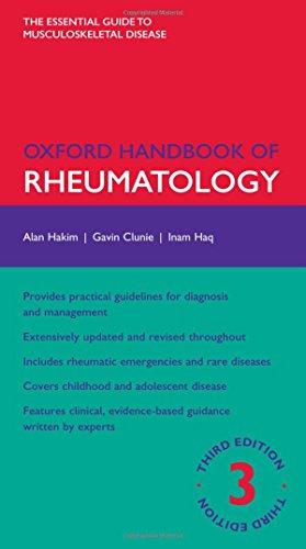 9780199587186: Oxford Handbook of Rheumatology (Oxford Medical Handbooks)