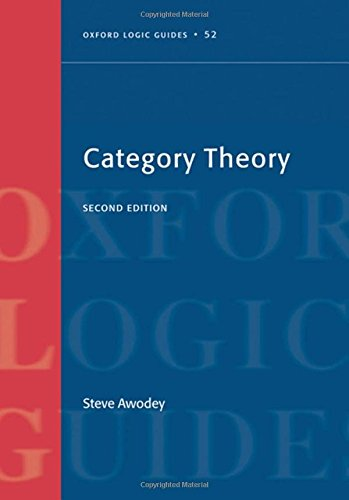 9780199587360: Category Theory (Oxford Logic Guides)