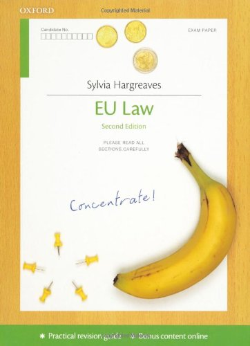 9780199587735: EU Law Concentrate: Law Revision and Study Guide