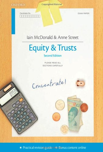 9780199587759: Equity & Trusts Concentrate