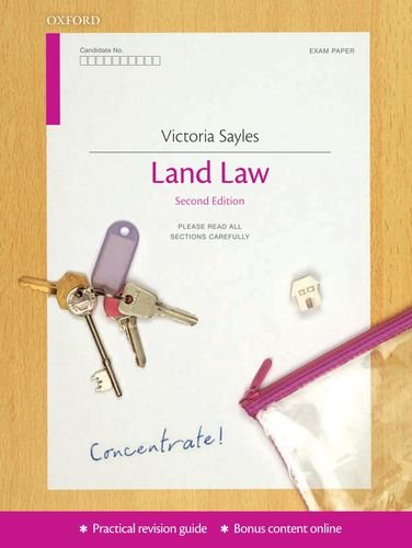 9780199587766: Land Law Concentrate
