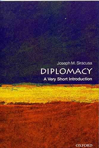 9780199588503: Diplomacy: A Very Short Introduction (Very Short Introductions)