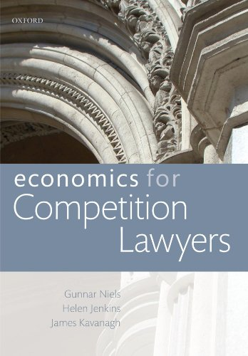 9780199588510: Economics for Competition Lawyers