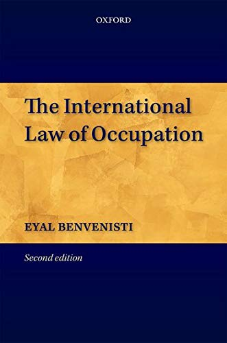 9780199588893: The International Law of Occupation