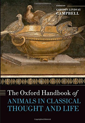 9780199589425: The Oxford Handbook of Animals in Classical Thought and Life