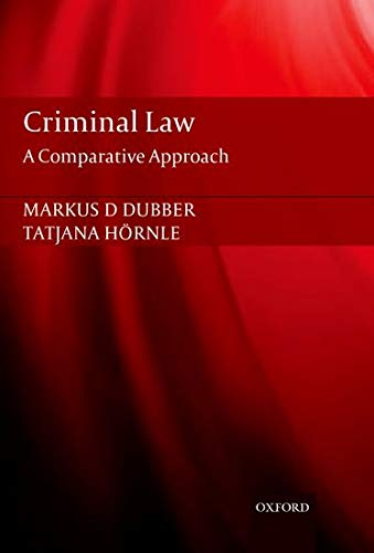 9780199589609: Criminal Law: A Comparative Approach