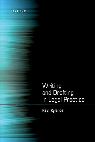 9780199589890: Writing and Drafting in Legal Practice