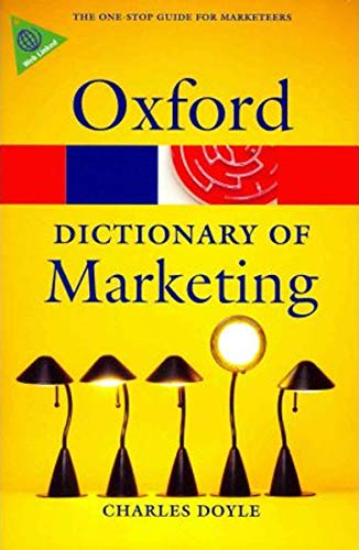 9780199590230: A Dictionary of Marketing (Oxford Quick Reference)