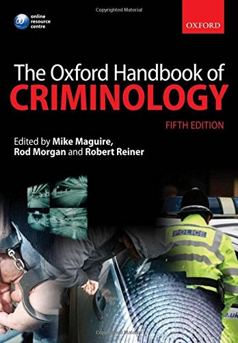 9780199590278: The Oxford Handbook of Criminology