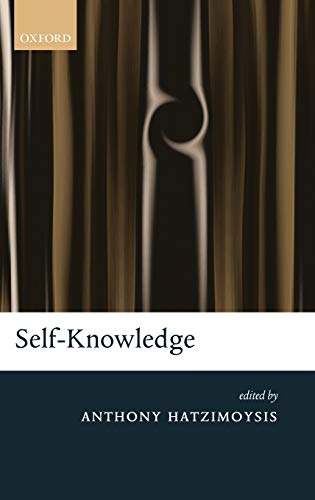 9780199590728: Self-Knowledge