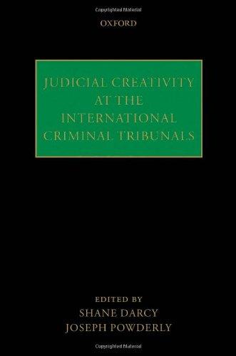 9780199591466: Judicial Creativity at the International Criminal Tribunals